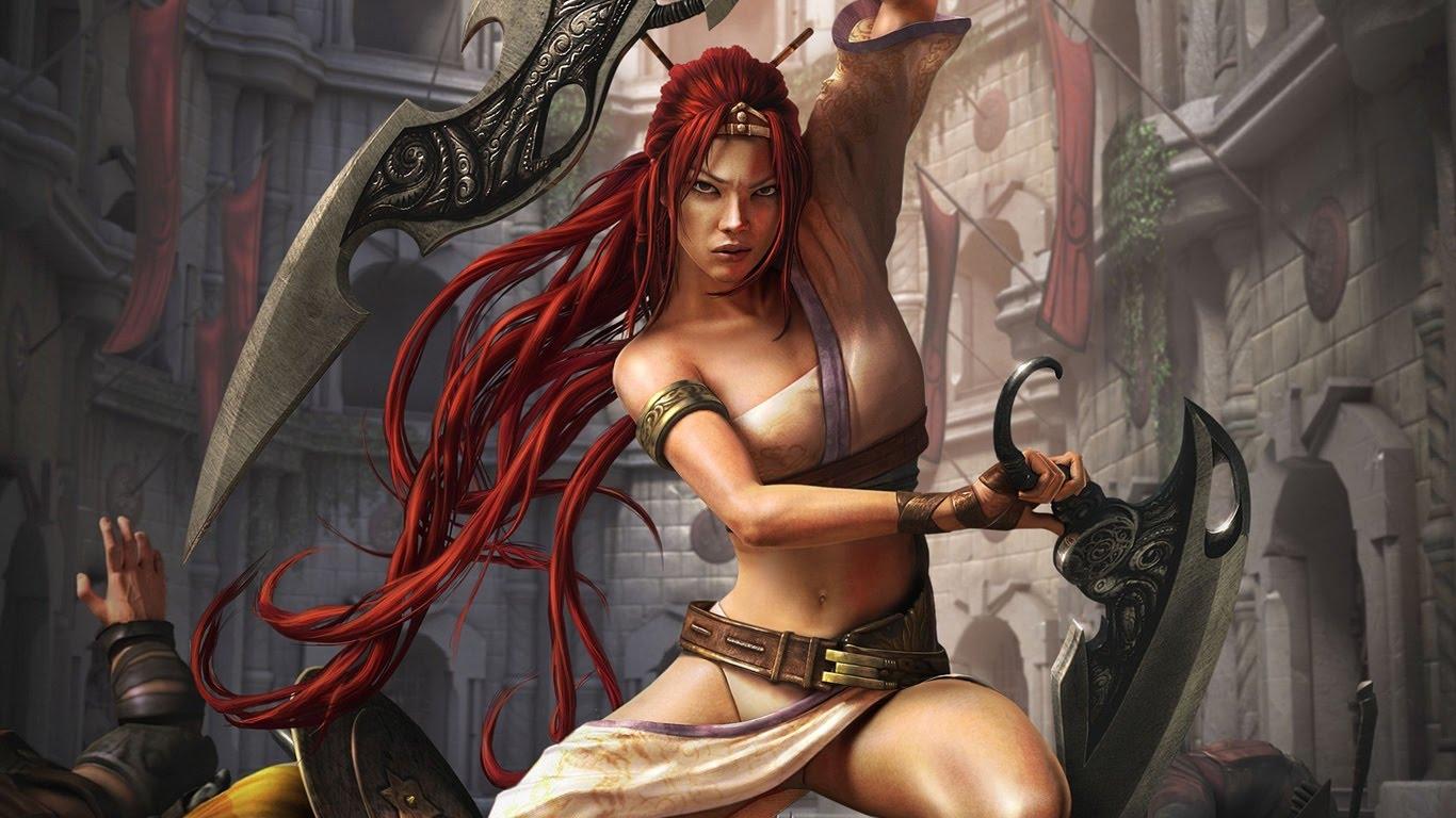 inspiringwallpapers_net-fantasy-warrior-girl-with-blades-1366x768