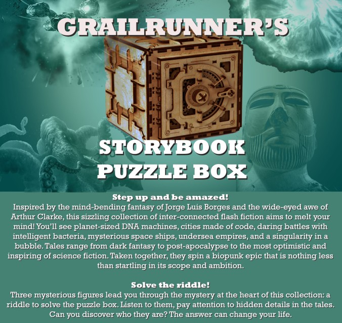 puzzle box-teal